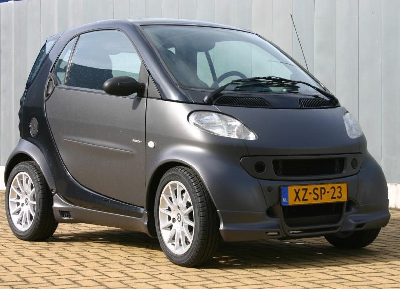 Mat grey Smart ForTwo Type 450  Smann