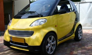 Hellow Yellow ForTwo Type 450 City Coupé 1998