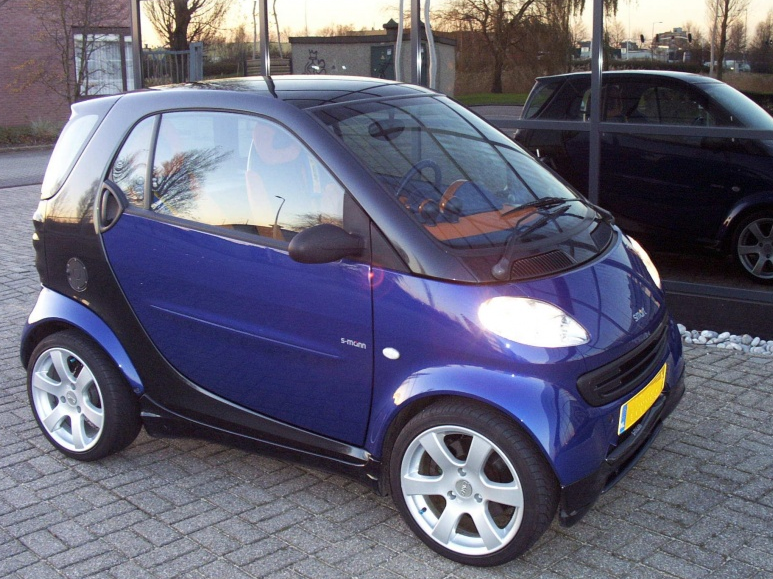 True Bleu Smart Fortwo City Coupé 1998