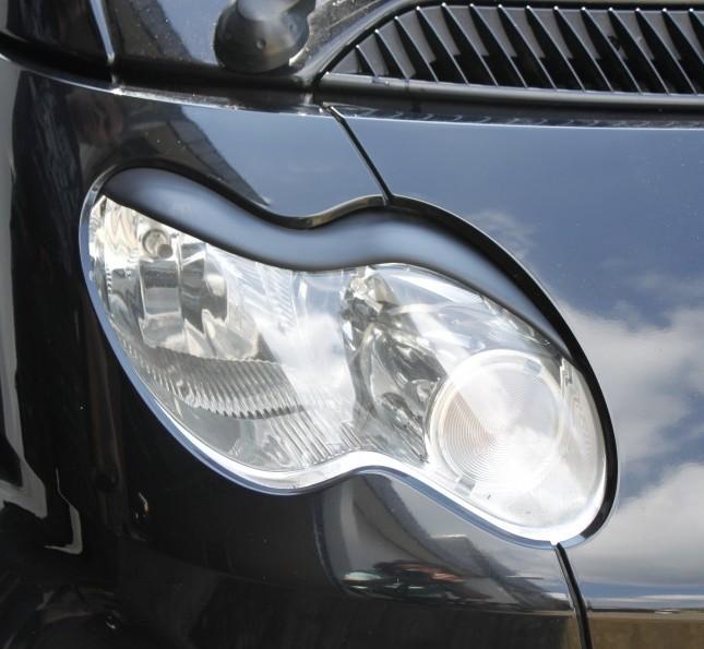 Headlight Eyebrows Facelift Cabrio N450 01 02b Exterior S