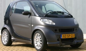 Mat grey Smart ForTwo Type 450