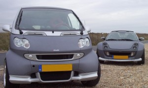 Stealth ForTwo Type 450 coupé facelift and Roadster